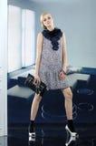 Μοντέλο μόδας Στοκ εικόνα με δικαίωμα ελεύθερης χρήσης