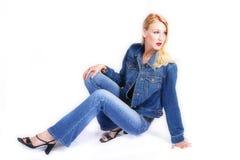 μοντέλο μόδας Στοκ Φωτογραφίες