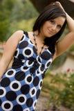 μοντέλο μόδας brunette Στοκ φωτογραφίες με δικαίωμα ελεύθερης χρήσης