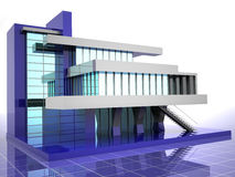 μοντέλο σπιτιών διανυσματική απεικόνιση