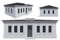 Μοντέλο του κτηρίου Στοκ φωτογραφία με δικαίωμα ελεύθερης χρήσης