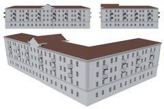 Μοντέλο του κτηρίου Στοκ φωτογραφίες με δικαίωμα ελεύθερης χρήσης