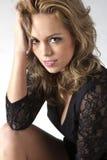 μοντέλο brunette Στοκ εικόνες με δικαίωμα ελεύθερης χρήσης
