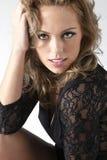 μοντέλο brunette Στοκ Φωτογραφία