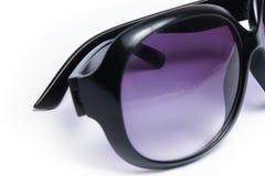 Μοντέρνα γυαλιά ηλίου σε ένα άσπρο υπόβαθρο στοκ εικόνες με δικαίωμα ελεύθερης χρήσης