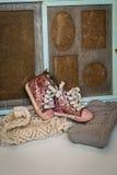 Μοντέρνα ενδύματα παιδιών για το κορίτσι Στοκ εικόνα με δικαίωμα ελεύθερης χρήσης