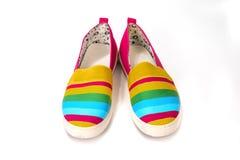 Μοντέρνα, φωτεινά, εύκολα αθλητικά παπούτσια (παπούτσια γυμναστικής) Στοκ εικόνες με δικαίωμα ελεύθερης χρήσης