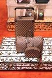 Μοντέρνες τσάντες στο κατάστημα της Louis Vuitton πολυτέλειας Μόσχα 01 1 στοκ εικόνα με δικαίωμα ελεύθερης χρήσης