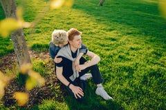 Μοντέρνη αμερικανική οικογένεια Στοκ Φωτογραφίες