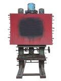Μοντέρνη βιομηχανική διαφημιστική επιτροπή ύφους, σκουριασμένα εργαλείο και μπουλόνι, Στοκ Εικόνες