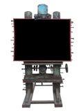 Μοντέρνη βιομηχανική διαφημιστική επιτροπή ύφους, σκουριασμένα εργαλείο και μπουλόνι, Στοκ φωτογραφία με δικαίωμα ελεύθερης χρήσης