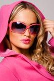 μοντέρνη γυναίκα πορτρέτο&upsil Στοκ Εικόνα