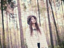 μοντέρνη γυναίκα Στοκ Εικόνες