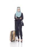 Μοντέρνη γυναίκα muslimah Στοκ φωτογραφία με δικαίωμα ελεύθερης χρήσης