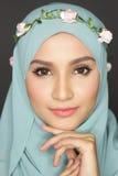 Μοντέρνη γυναίκα muslimah Στοκ εικόνες με δικαίωμα ελεύθερης χρήσης