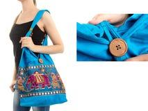 Μοντέρνη ινδική τσάντα Στοκ Εικόνα