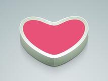 Μοντέρνη καρδιά της αγάπης Στοκ Εικόνα