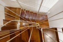 Μοντέρνη σκάλα Στοκ Εικόνες