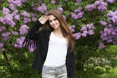μοντέρνη χαμογελώντας γυ& Στοκ Εικόνες