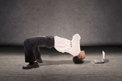 Μοντέρνος επιχειρηματίας Στοκ φωτογραφίες με δικαίωμα ελεύθερης χρήσης
