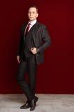 Μοντέρνος νεόνυμφος επιχειρηματιών ατόμων Στοκ Φωτογραφίες