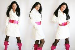 μοντέρνο κορίτσι Στοκ φωτογραφία με δικαίωμα ελεύθερης χρήσης