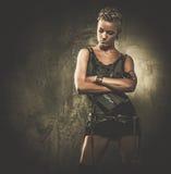 Μοντέρνο κορίτσι steampunk Στοκ Φωτογραφίες