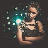Μοντέρνο κορίτσι steampunk Στοκ Φωτογραφία