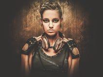 Μοντέρνο κορίτσι steampunk Στοκ Εικόνες