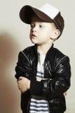 μοντέρνο μικρό παιδί Ύφος χιπ-χοπ Fashion Children Στοκ Εικόνες
