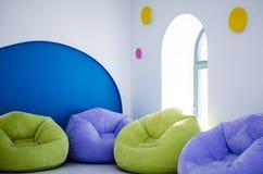 Μοντέρνο δωμάτιο παιχνιδιών μόδας παιδιών ` s Στοκ Φωτογραφίες