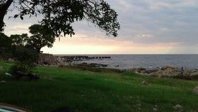Μοντεβίδεο Ουρουγουάη atardecer Στοκ εικόνα με δικαίωμα ελεύθερης χρήσης