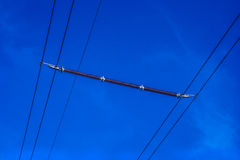 Μονωτής ηλεκτροφόρων καλωδίων Στοκ Εικόνες