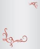 Μονόγραμμα καρδιών ημέρας βαλεντίνων Στοκ φωτογραφία με δικαίωμα ελεύθερης χρήσης