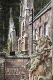 Μονόκερος σε Delgatie Castle στη Σκωτία Στοκ Εικόνες