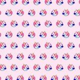 Μονόκερος - σχέδιο 11 emoji απεικόνιση αποθεμάτων