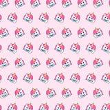 Μονόκερος - σχέδιο 12 emoji απεικόνιση αποθεμάτων