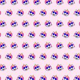 Μονόκερος - σχέδιο 13 emoji διανυσματική απεικόνιση