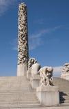 μονόλιθος vigeland Στοκ φωτογραφία με δικαίωμα ελεύθερης χρήσης