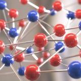 μοριακή δομή Στοκ φωτογραφία με δικαίωμα ελεύθερης χρήσης