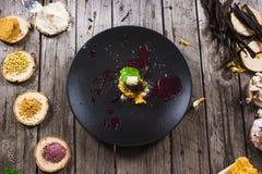 Μοριακό σύγχρονο επιδόρπιο κουζίνας στοκ φωτογραφίες με δικαίωμα ελεύθερης χρήσης