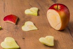 Μορφές δαπέδων τζακιού της Apple Στοκ Εικόνα