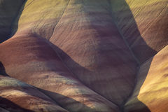 Μορφές ερήμων και χρώματα, χρωματισμένοι λόφοι, Όρεγκον Στοκ Εικόνες