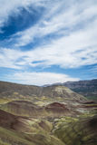 Μορφές ερήμων και χρώματα, χρωματισμένοι λόφοι, Όρεγκον Στοκ εικόνες με δικαίωμα ελεύθερης χρήσης