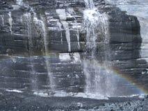 Μορφές ουράνιων τόξων παγετώνων Στοκ Εικόνα