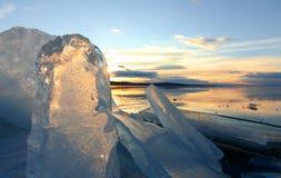 Μορφές πάγου Στοκ εικόνες με δικαίωμα ελεύθερης χρήσης