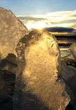 Μορφές πάγου Στοκ Φωτογραφία