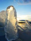 Μορφές πάγου Στοκ εικόνα με δικαίωμα ελεύθερης χρήσης