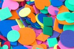 μορφές χρωμάτων Στοκ εικόνες με δικαίωμα ελεύθερης χρήσης