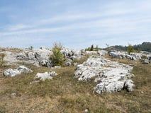 Μορφές Ponoarele, Ρουμανία Carst Στοκ φωτογραφίες με δικαίωμα ελεύθερης χρήσης